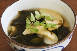 Wakame and Bamboo Soup
